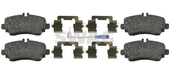 Brake Pad Set, disc brake - 10 91 6439