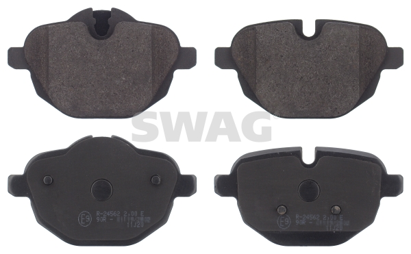 Brake Pad Set, disc brake - 20 91 6839