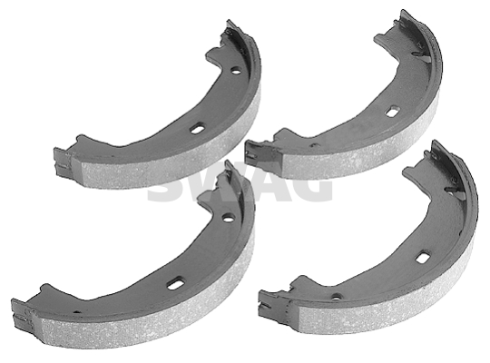 Brake Shoe Set, parking brake - 20 91 8536