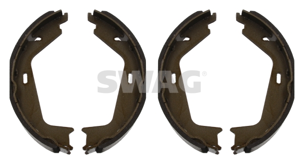 Brake Shoe Set, parking brake - 55 93 4255 SWAG