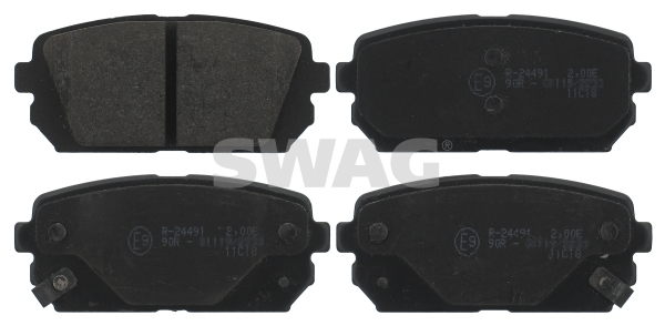 Brake Pad Set, disc brake - 91 91 6817