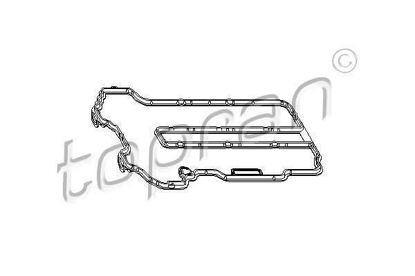 Gasket, cylinder head cover - 206 530 TOPRAN - 206 530