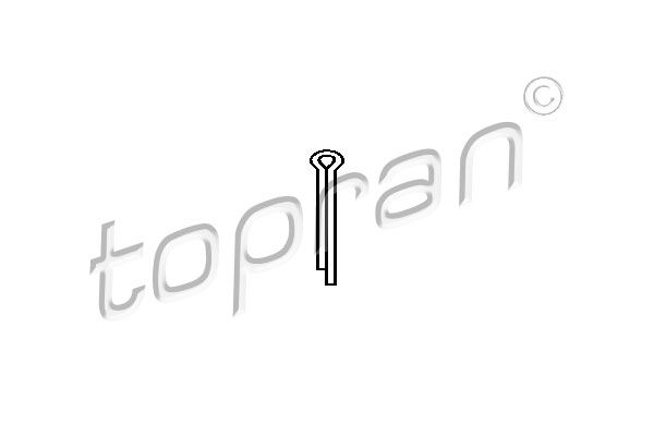 Split Pin - 203 190 TOPRAN