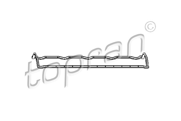 Gasket, cylinder head cover - 720 112 TOPRAN - 720 112