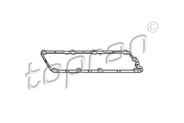 Gasket, cylinder head cover - 112 912 TOPRAN - 112 912