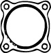 Gasket, exhaust pipe - 80766 WALKER - 80766
